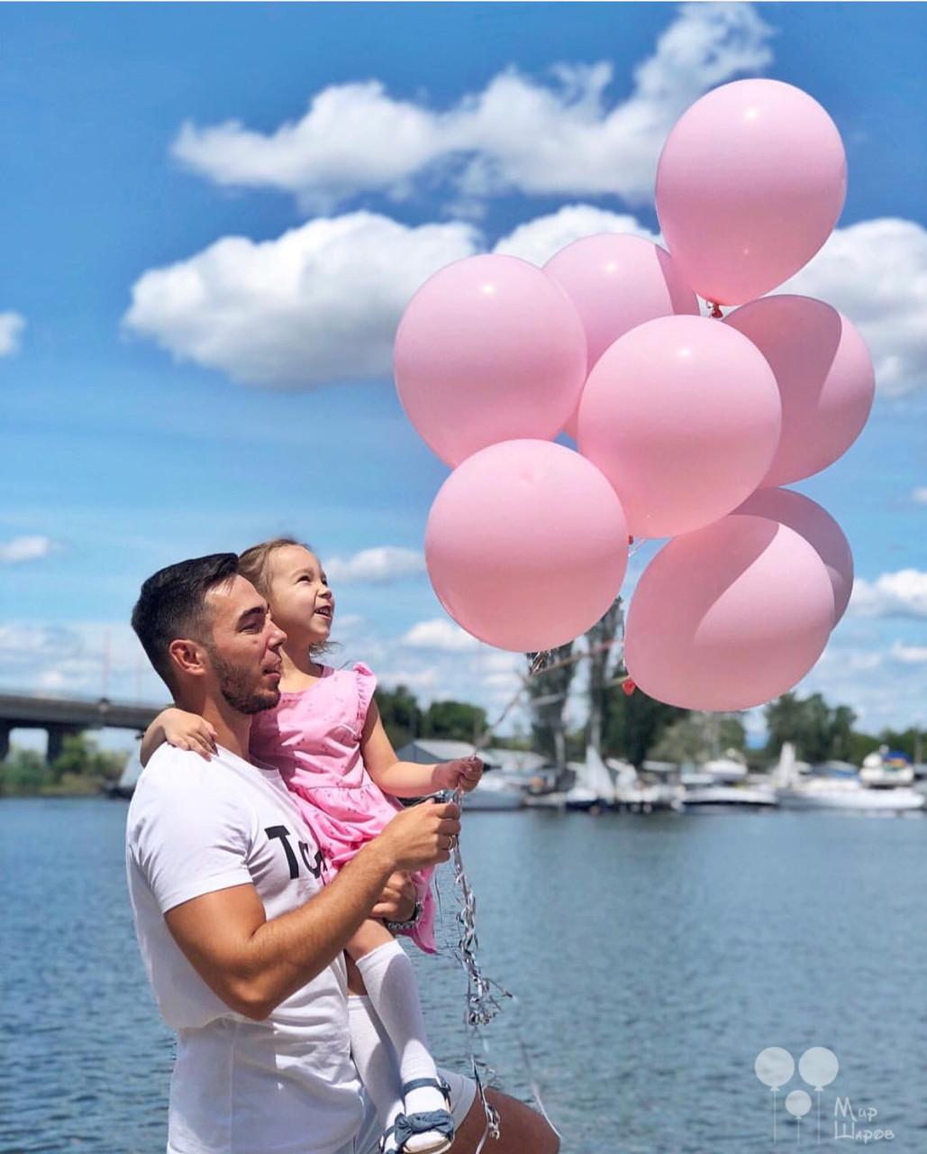 Пудровое хмару повітряних кульок