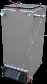 Шахтный котел длительного горения Холмова Bizon FS Eco 10 квт, фото 2