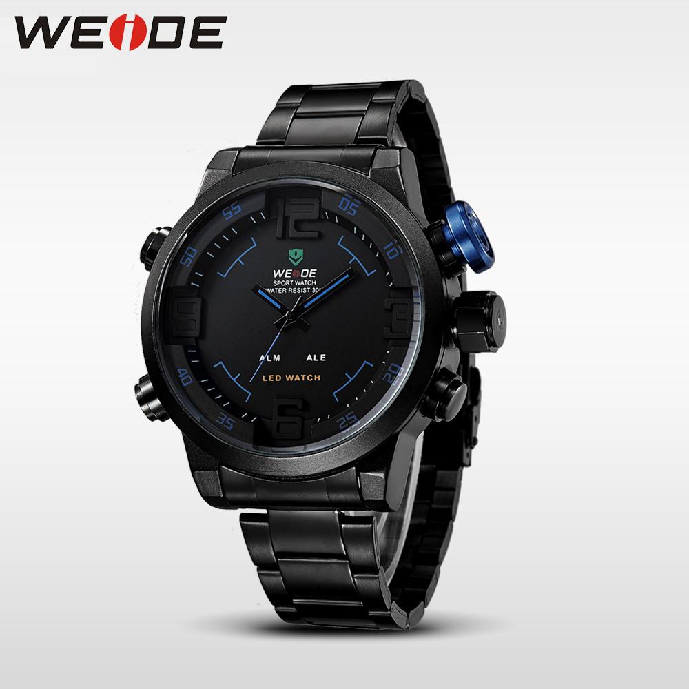 Мужские часы Weide WH2309 Blue Оригинал + Гарантия!