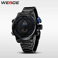 Мужские часы Weide WH2309 Blue Оригинал + Гарантия!, фото 1