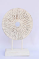 Статуэтка абстракция круг резной высота 43 см