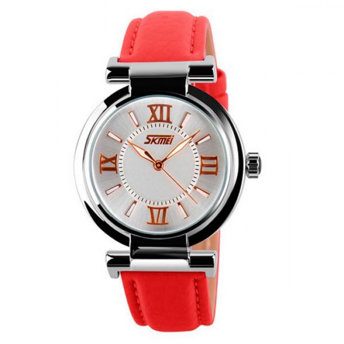 Женские часы Skmei Elegant Red Оригинал + Гарантия!