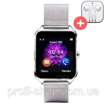 Умные часы телефон Smart Watch Z60 c SIM картой