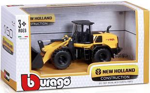 Модель Экскаватор Bburago Construction New Holland W170D   18-32083