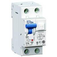 АВДТ с захистом від надструмів OptiDin D63-22C25-A-УХЛ4 (ПЗВ 2п 25А) ОРИГИНАЛ