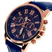 Женские часы Geneva Uno Blue Оригинал + Гарантия!, фото 1