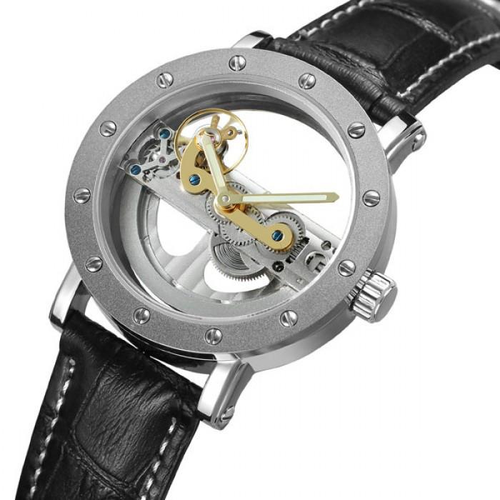 Женские часы Forsining W1885 Silver Оригинал + Гарантия!