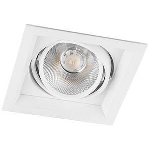 Карданний світильник LED AL201 12W 4000K розмір 145х145х73мм