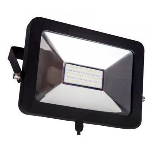 Прожектор LED SMD slim 50W 6500К (LPE-50C) LUXEL матрична (SMD) (ГАРАНТІЯ 2 РОКИ)