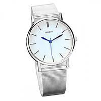 Женские часы Geneva Steel Silver Оригинал + Гарантия!, фото 1