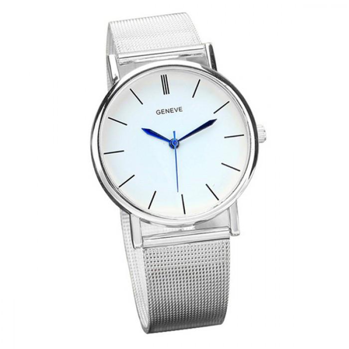 Женские часы Geneva Steel Silver Оригинал + Гарантия!