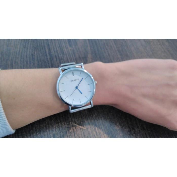 0763832d5a08 Женские часы Geneva Steel Silver Оригинал + Гарантия!: продажа, цена ...