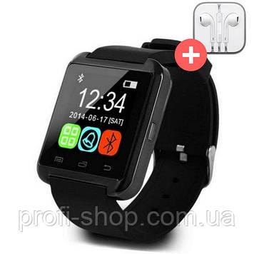 UWatch Умные часы Smart U8. Черная. Black
