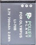 Аккумулятор Powerplant Olympus LI-70B DV00DV1265, фото 2