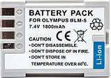 Аккумулятор Powerplant Olympus PS-BLM5 DV00DV1286, фото 2
