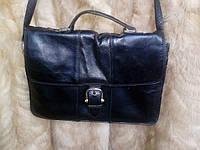 Сумка из натуральной кожи, кожаная сумка, сумка-портфель из кожи, фото 1