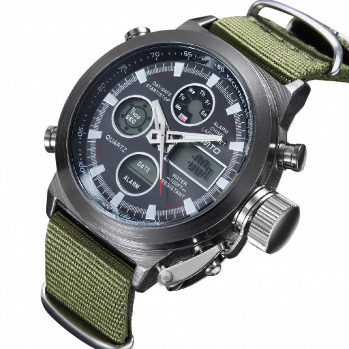 Мужские часы AMST AM3003 Green Оригинал + Гарантия!
