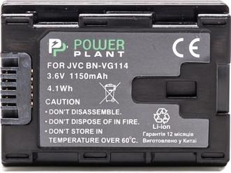 Аккумулятор Powerplant JVC BN-VG114 Chip DV00DV1375