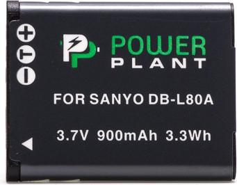 Аккумулятор Powerplant Sanyo DB-L80, D-Li88 DV00DV1289