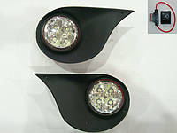 Противотуманки Hyundai Getz (2006+, LED)