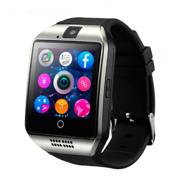 Умные часы UWatch Q18 NFC Black Оригинал + Гарантия!