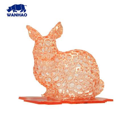 Фотополімерна смола  UV Resin Wanhao, оранжева, 250 мл, фото 2