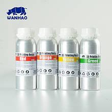Фотополімерна смола  UV Resin Wanhao, жовта, 250 мл