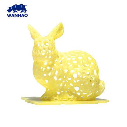 Фотополімерна смола  UV Resin Wanhao, жовта, 250 мл, фото 2