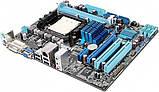 Плата під AMD SAM3 ASUS M4A78LT-M LE на DDR3 !!! Розуміє 2-6 ЯДЕРНІ ПРОЦЫ X2-X6 до PHENOM II X6 1045T 95W, фото 2