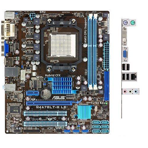 Плата під AMD SAM3 ASUS M4A78LT-M LE на DDR3 !!! Розуміє 2-6 ЯДЕРНІ ПРОЦЫ X2-X6 до PHENOM II X6 1045T 95W