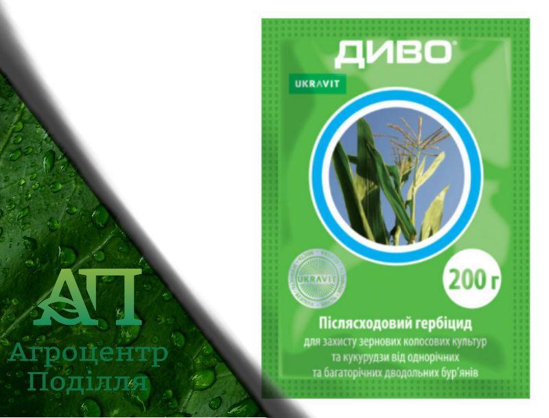 Гербицид ДИВО 200 г. упаковка (БАНВЕЛ)