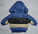 Куртка  для мальчика голубая (QuadriFoglio, Польша), фото 3