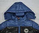 Куртка  для мальчика голубая (QuadriFoglio, Польша), фото 2