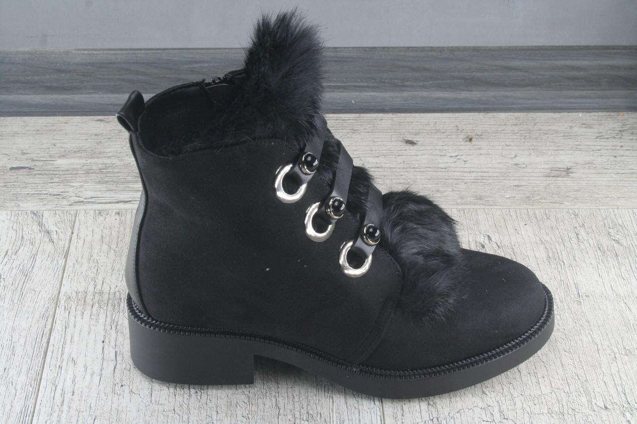 Ботинки, сапоги зимние Lilin shoes, обувь теплая, повседневная, люкс качество