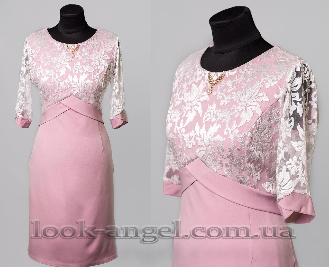 """Красивое женское платье ткань """"Костюмная"""" 56 размер батал"""