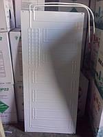 Испаритель для холодильника 450*1000мм, (плачущий испаритель 2-х канальный) 2-х патрубковый Норд, Интер