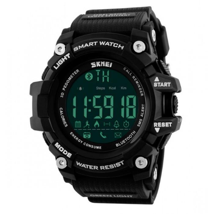 Умные часы Skmei Smart Black Оригинал + Гарантия!