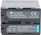 Аккумулятор Powerplant Sony NP-FM90/QM91 DV00DV1030, фото 2