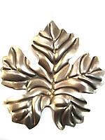 Виноградный лист 125х115х1,2
