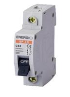 Автоматичний вимикач SP-4B 1P C 10А 4.5кА ENERGIO Бельгія (уп. 12 шт.)