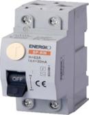 Пристрій захисного відключення електромеханічний SP-RM/EN-RE 2P 25А 30мА тип AC  ENERGIO Бельгія