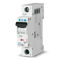 Вимикач автоматичний ЕАТОN 1р 10А (PL4-C10/1) (Австрия-Сербия ЕС)
