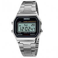 Мужские часы Skmei Popular Silver Оригинал + Гарантия!