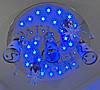 """Люстра потолочная """"Космос"""" с цветной LED подсветкой и автоматическим отключением YR-5242/3+2"""