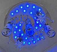 """Люстра потолочная """"Космос"""" с цветной LED подсветкой и автоматическим отключением YR-5242/3+2, фото 1"""