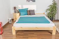 Двуспальная кровать из массива сосны 160х200 см ДСК101