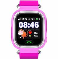 Детские умные смарт часы розумний годинник Q90 Q100 Smart Baby Watch с GPS 1.22