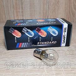 Лампа стопов габарита  12V 21/5W (2 конт.) Tes-lamps