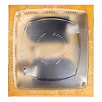 Світильник стельовий double kare-1 бук РАСПРОДАЖА