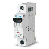 Вимикач автоматичний ЕАТОN 1р 20А (уп. 12 шт.) (PL4-C20/1) (Австрия-Сербия ЕС)